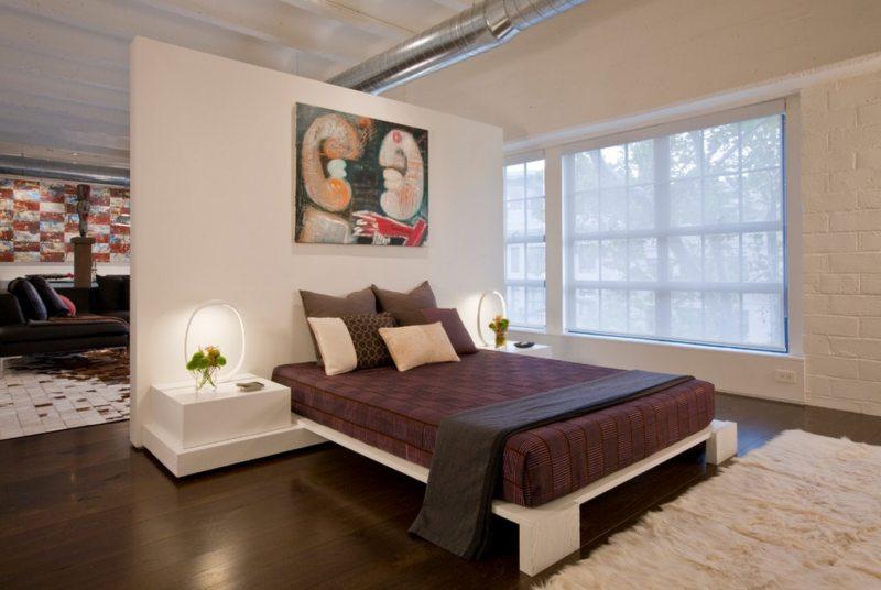 гостинная совмещенная со спальней (42)