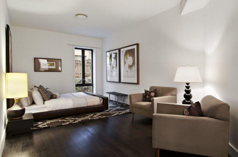 гостинная совмещенная со спальней (43)