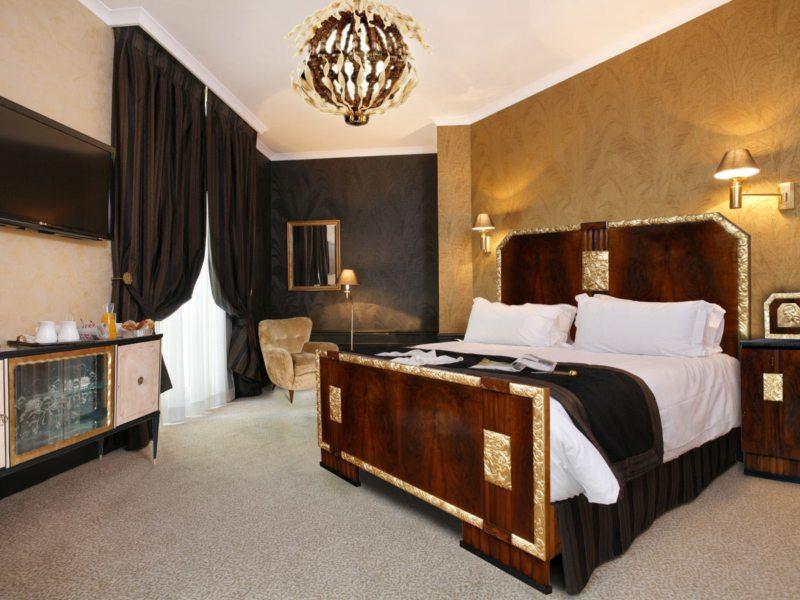гостинная совмещенная со спальней (44)