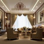 гостинная совмещенная со спальней (6)