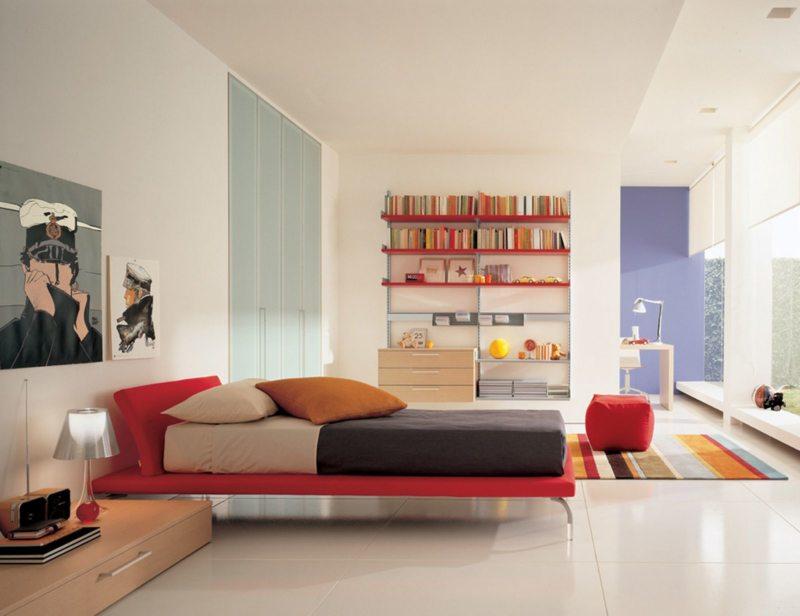 гостинная совмещенная со спальней (9)