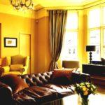 гостинная в золотом цвете (6)