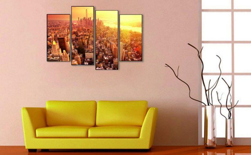 Картины для гостиной - 80 фото идеального сочетания в интерьере гостиной