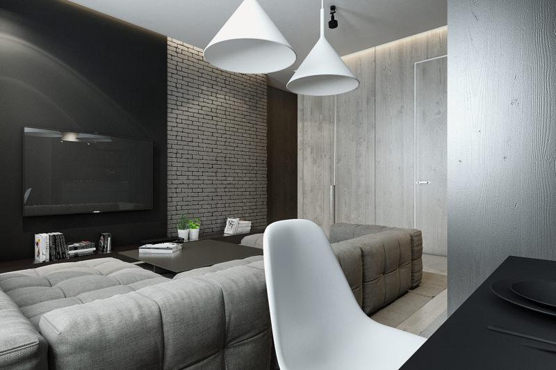 кирпичная гостиная (44)