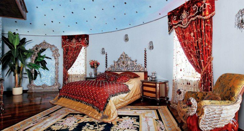 ламбрекены в спальню (20)