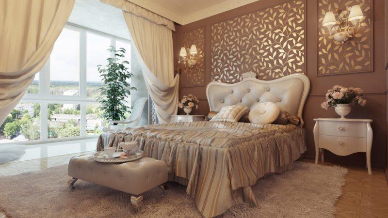 ламбрекены в спальню (26)