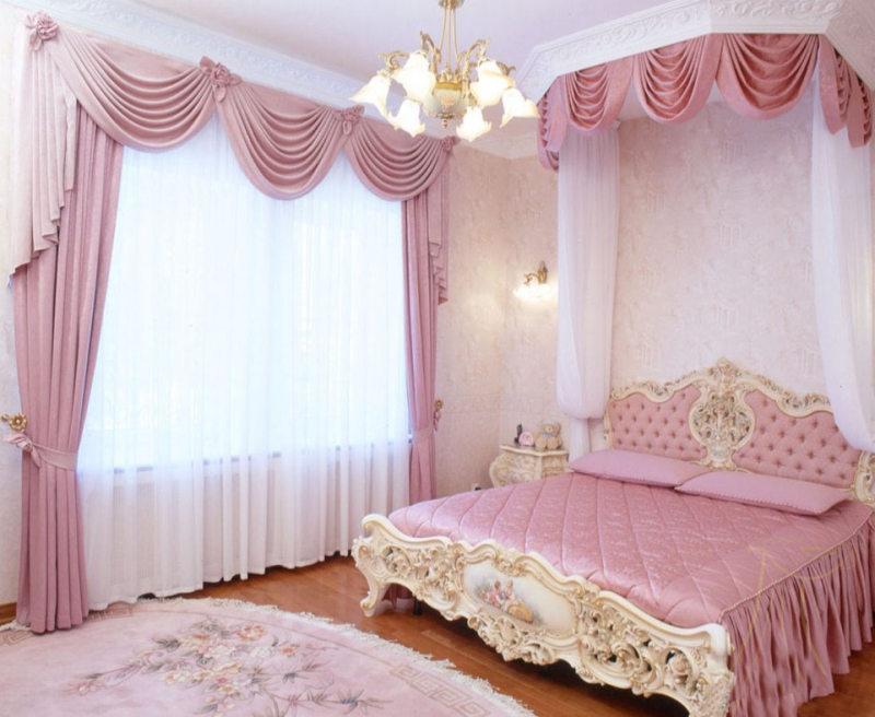 ламбрекены в спальню (36)