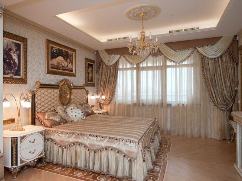 ламбрекены в спальню (45)