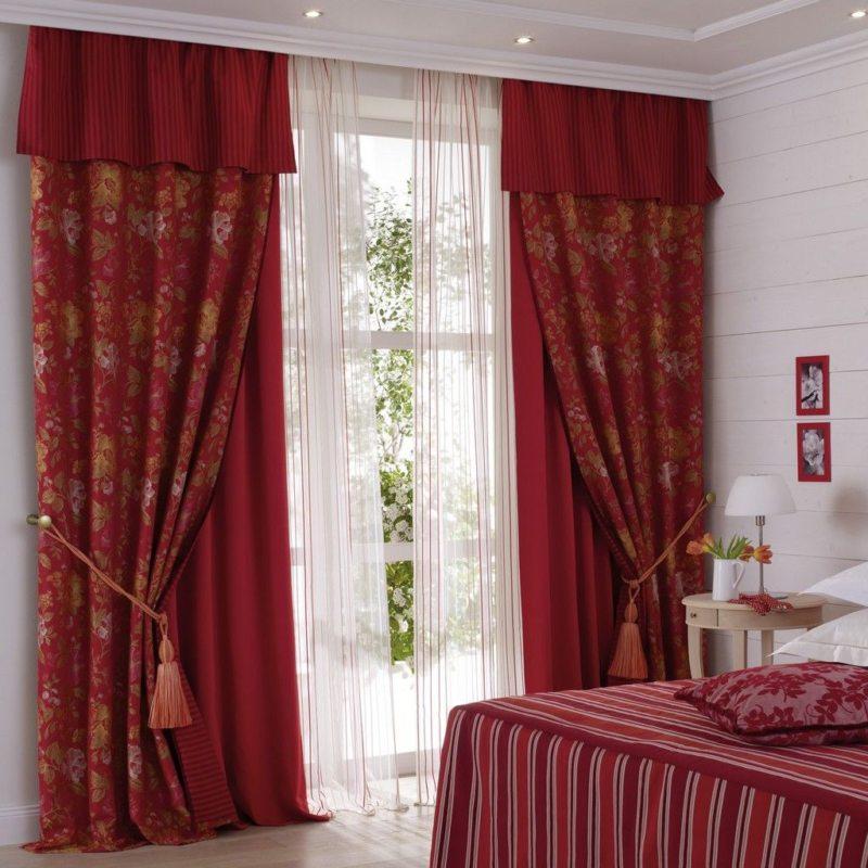 ламбрекены в спальню (8)