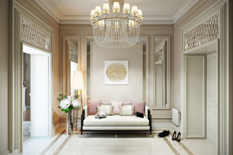 Настольные лампы в спальню классика