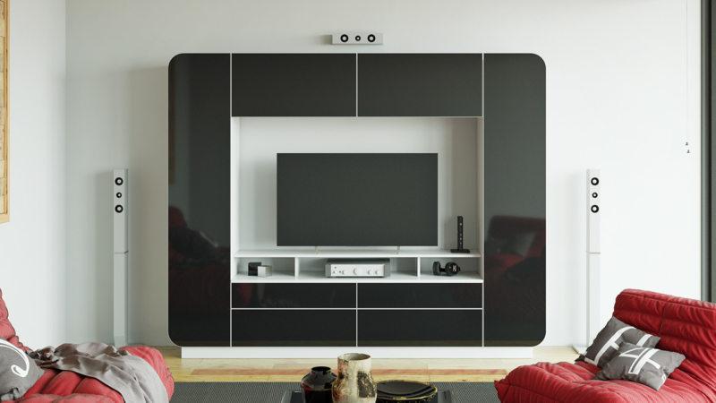мини стенка для гостиной (9)