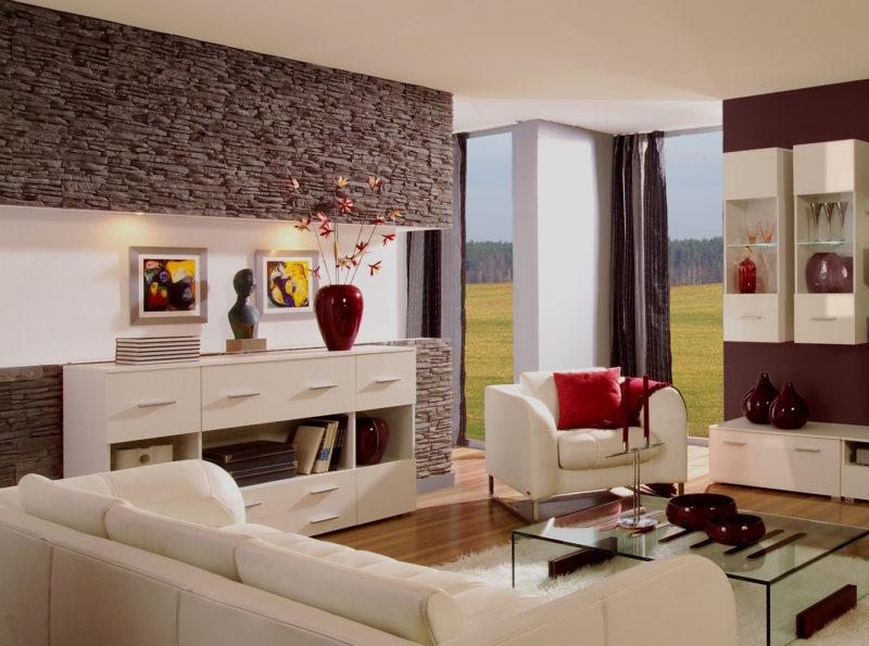 оформление гостиной (9)