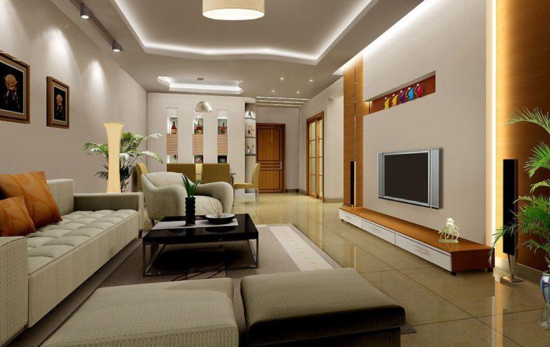 плитка в гостинной (42)