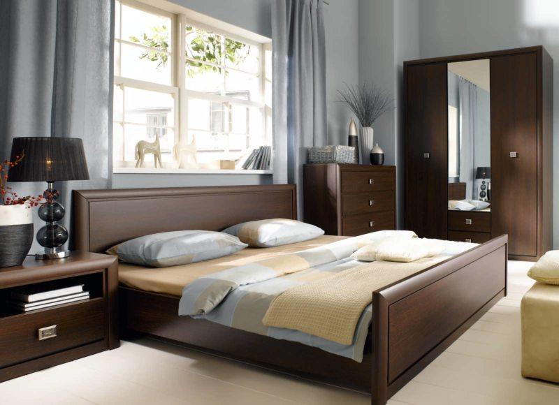спальня цвета венге (10)