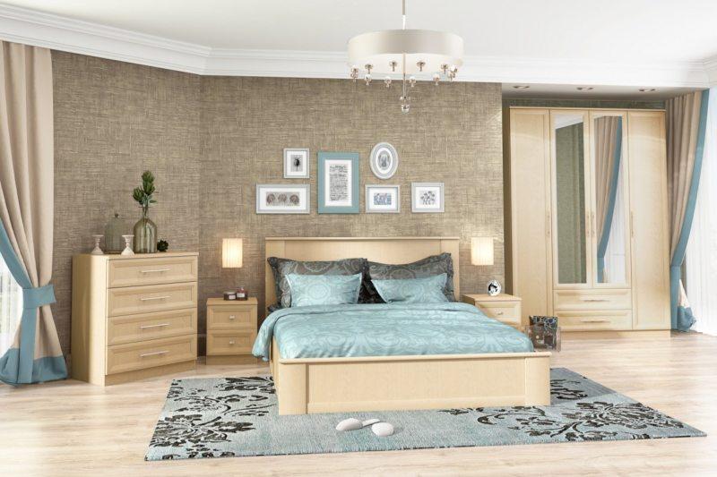 спальня цвета венге (11)