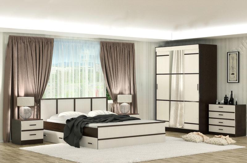 спальня цвета венге (14)