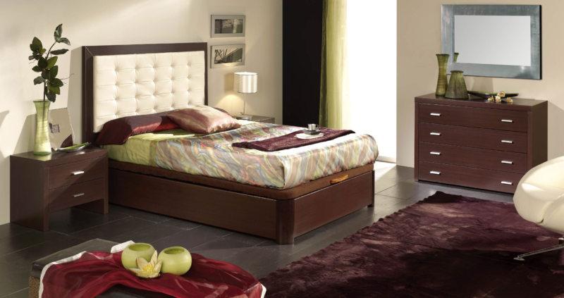 спальня цвета венге (16)