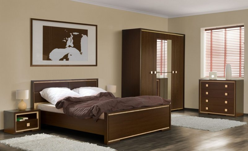спальня цвета венге (17)