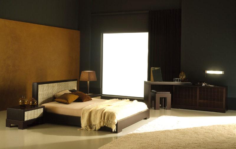 спальня цвета венге (19)