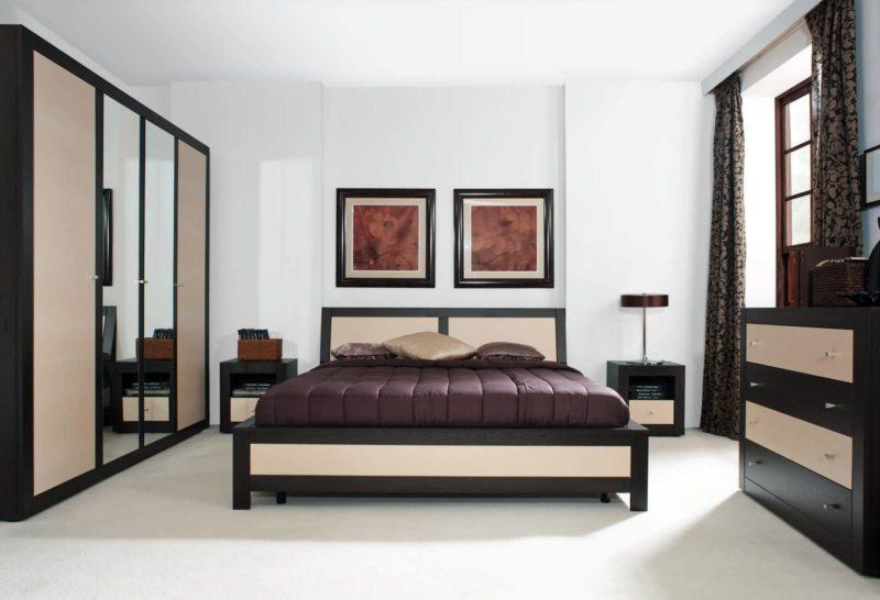 спальня цвета венге (2)