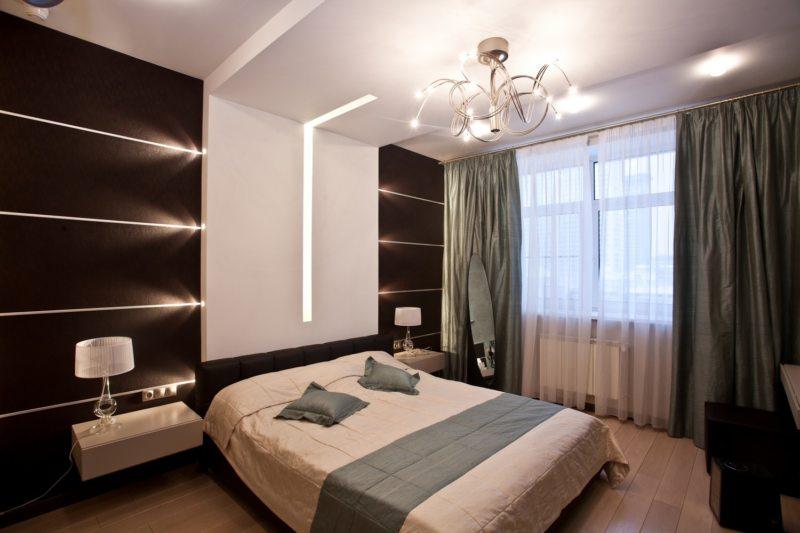 спальня цвета венге (29)