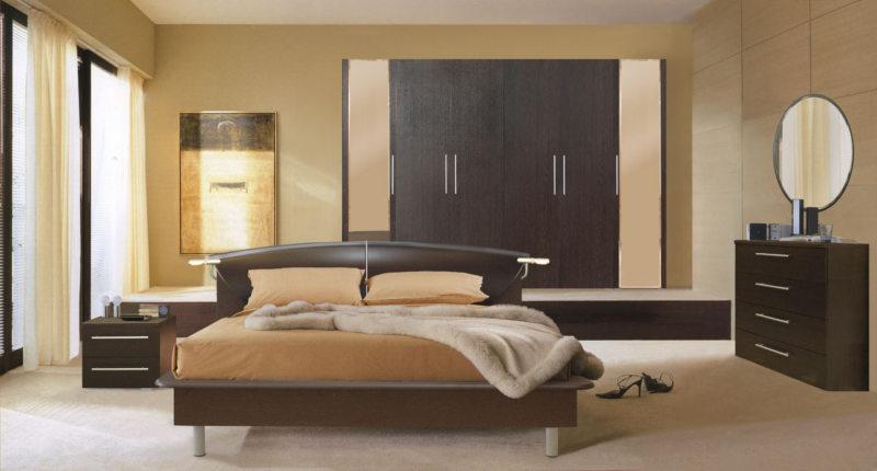 спальня цвета венге (30)
