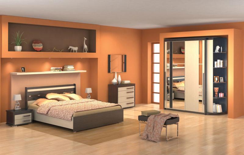 спальня цвета венге (35)