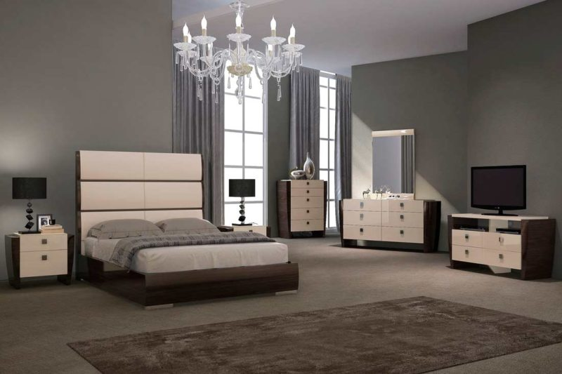 спальня цвета венге (36)