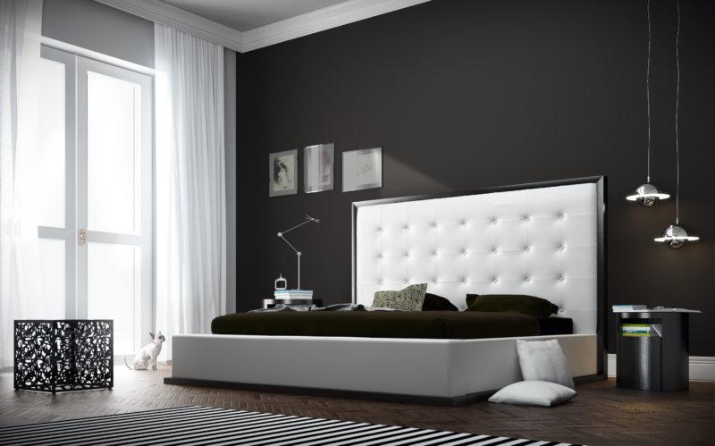 спальня цвета венге (37)