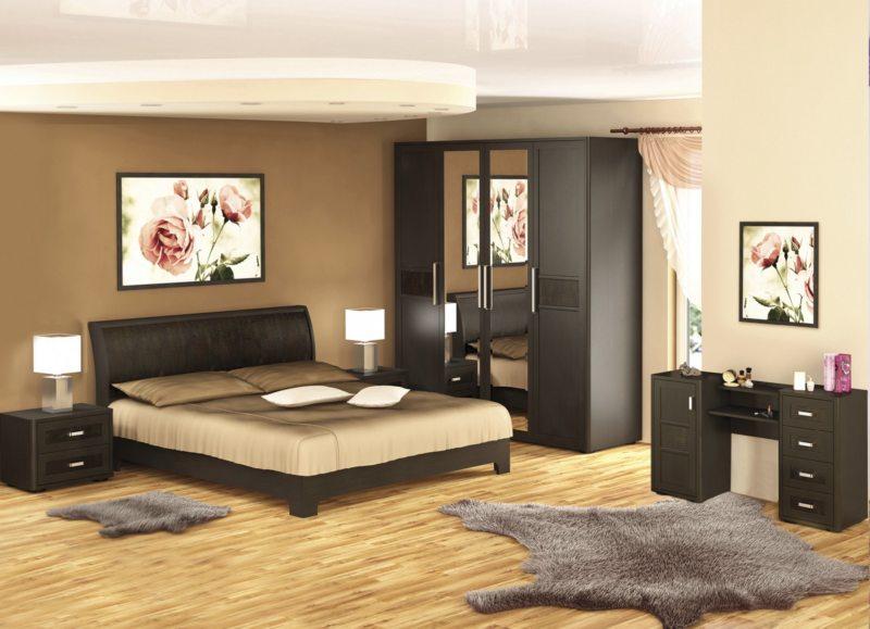 спальня цвета венге (40)