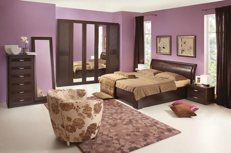 спальня цвета венге (41)