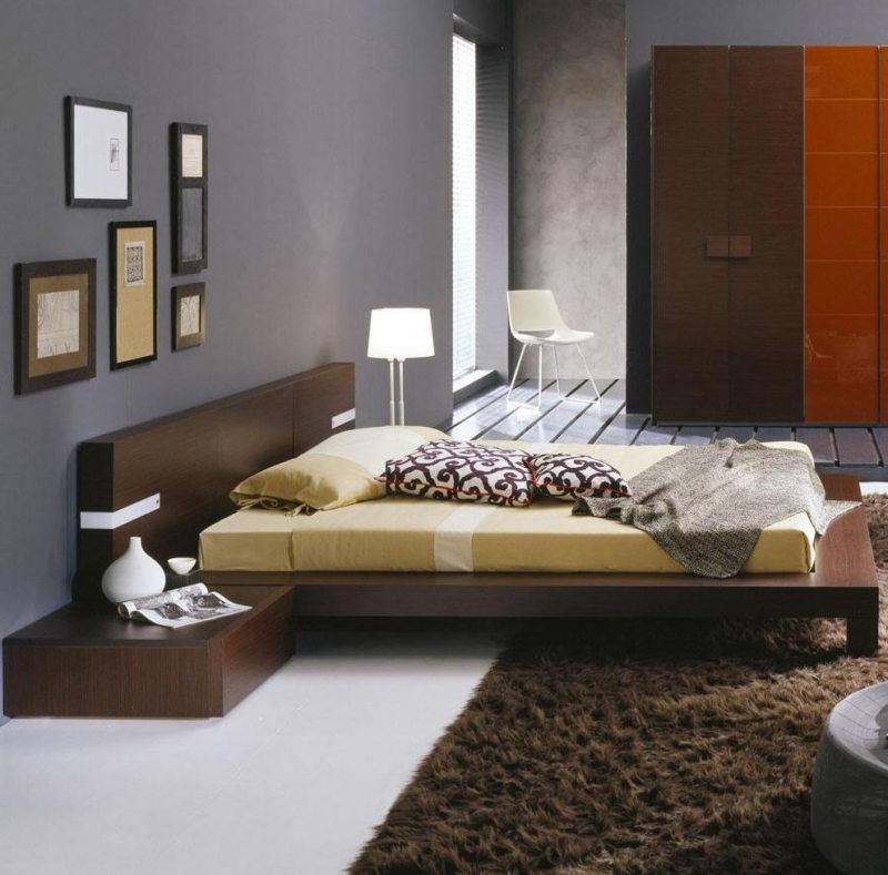 спальня цвета венге (43)