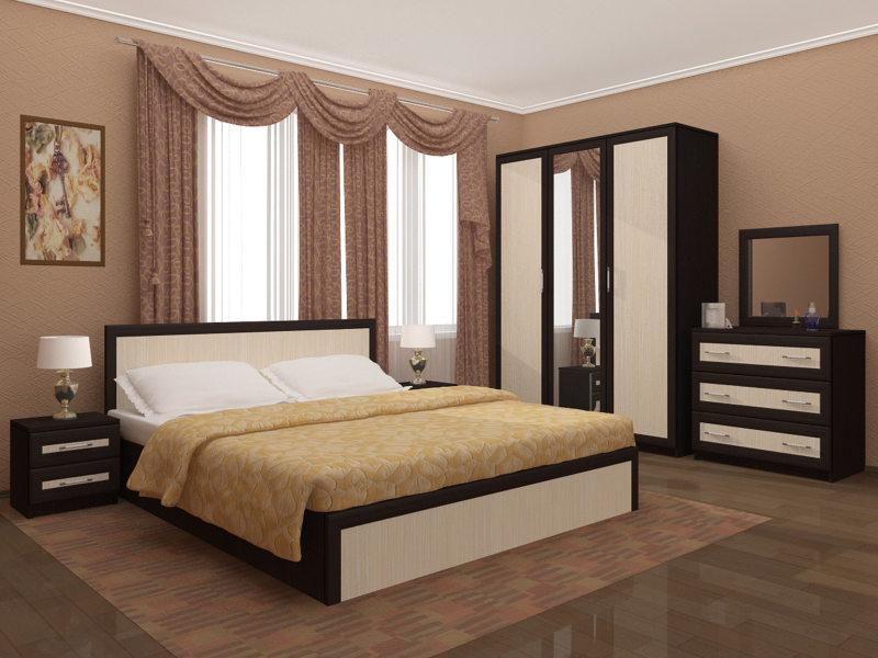 спальня цвета венге (44)