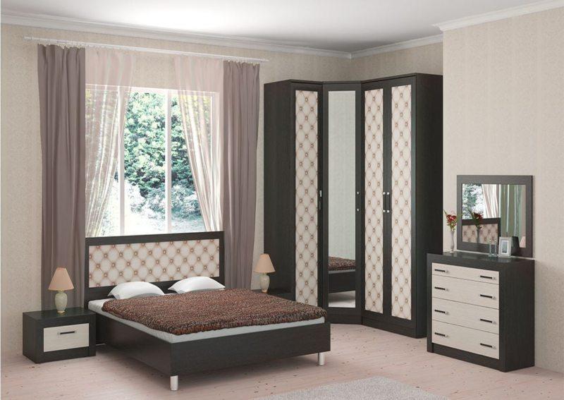 спальня цвета венге (45)