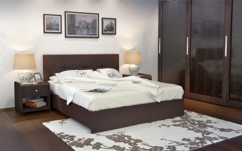 спальня цвета венге (52)