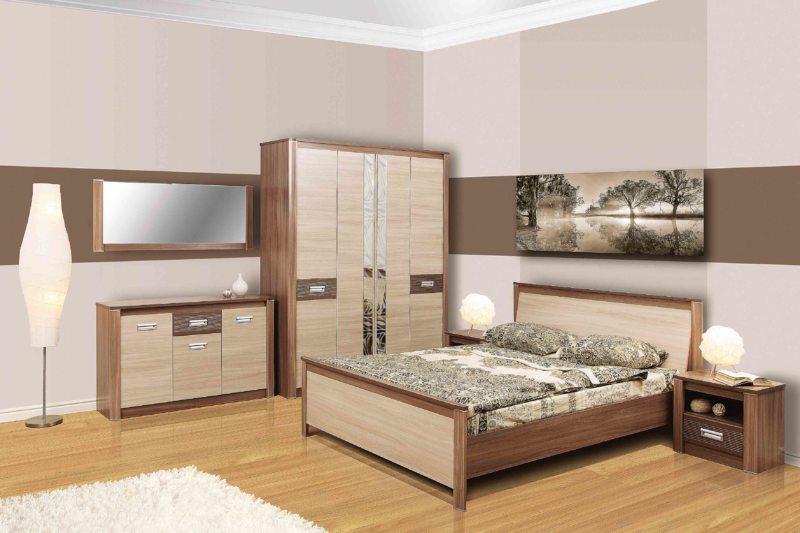 спальня цвета венге (53)