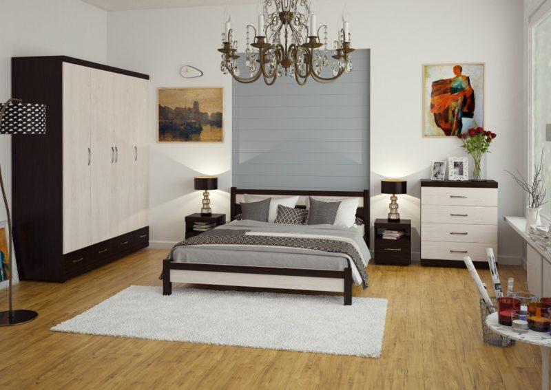 спальня цвета венге (6)