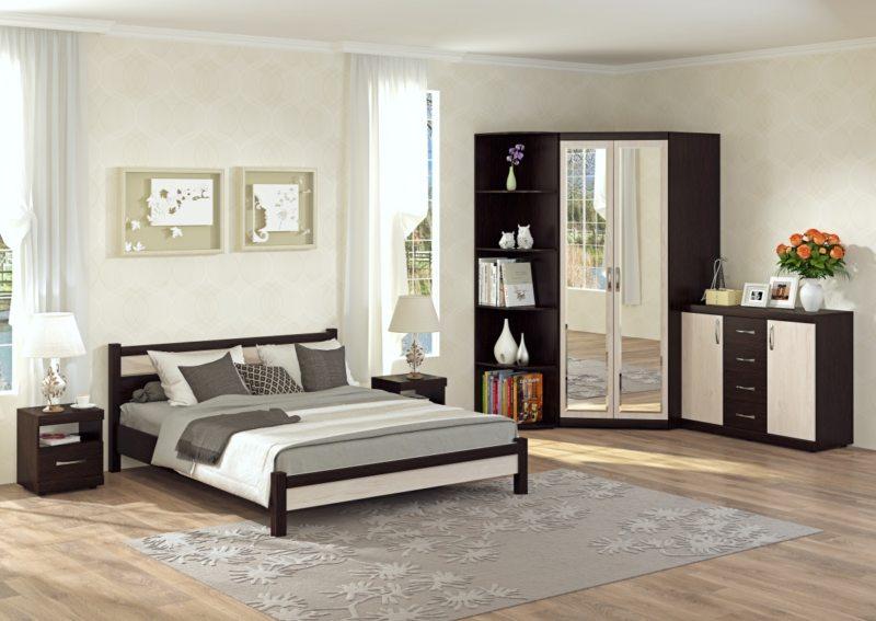спальня цвета венге (7)