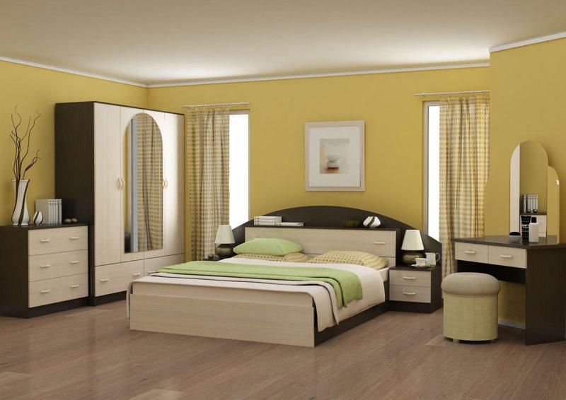 спальня цвета венге (8)