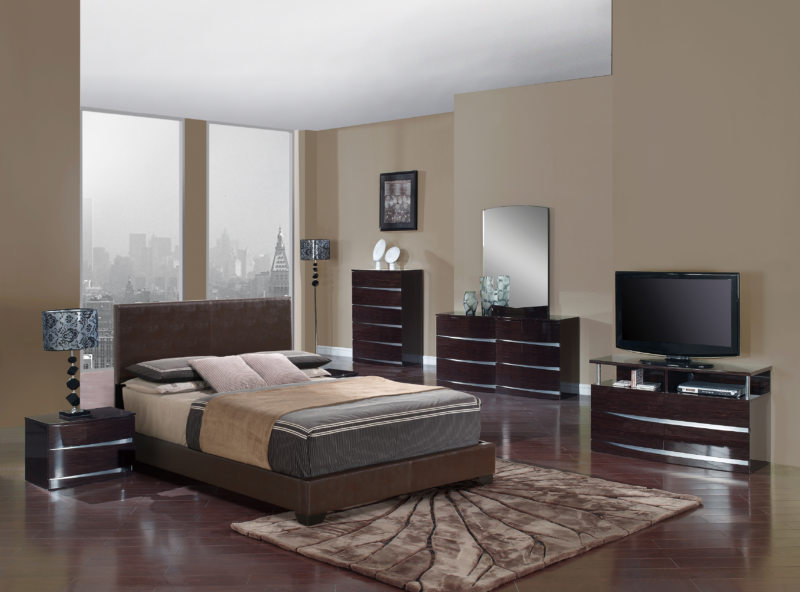 спальня цвета венге (9)