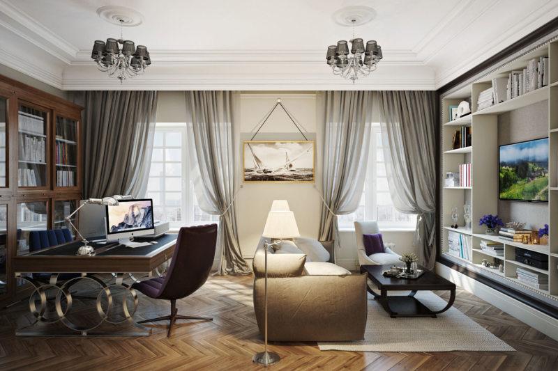 узкая гостиная (42)