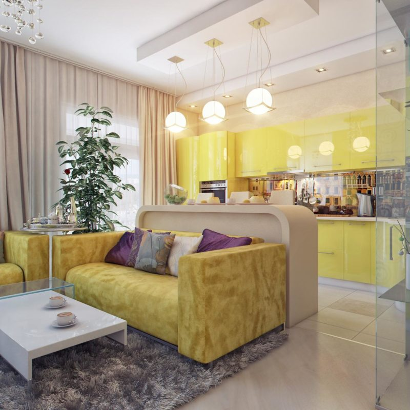 узкая гостиная (45)
