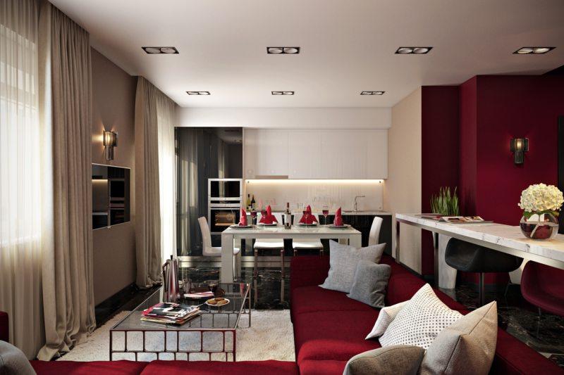 узкая гостиная (46)