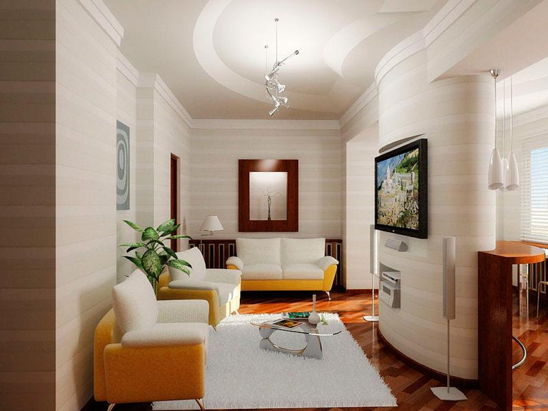 узкая гостиная (50)