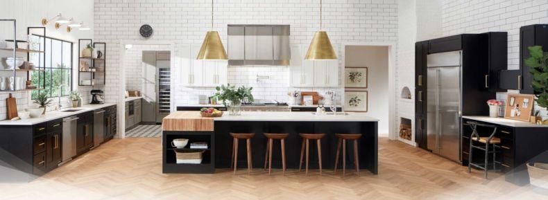 Дизайн кухни 2018 года (18)