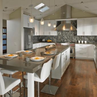 Дизайн кухни 2018 года — 130 фото лучших новинок и современного оформления интерьера