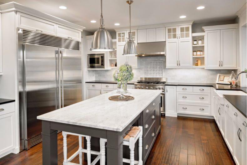 Дизайн кухни 2018 года (37)