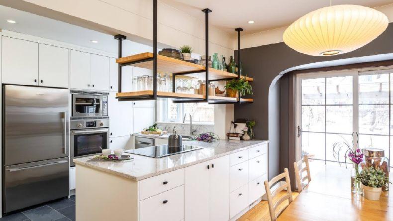 Дизайн кухни 2018 года (41)