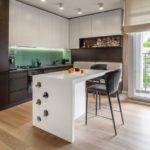 Дизайн кухни 2018 года (5)