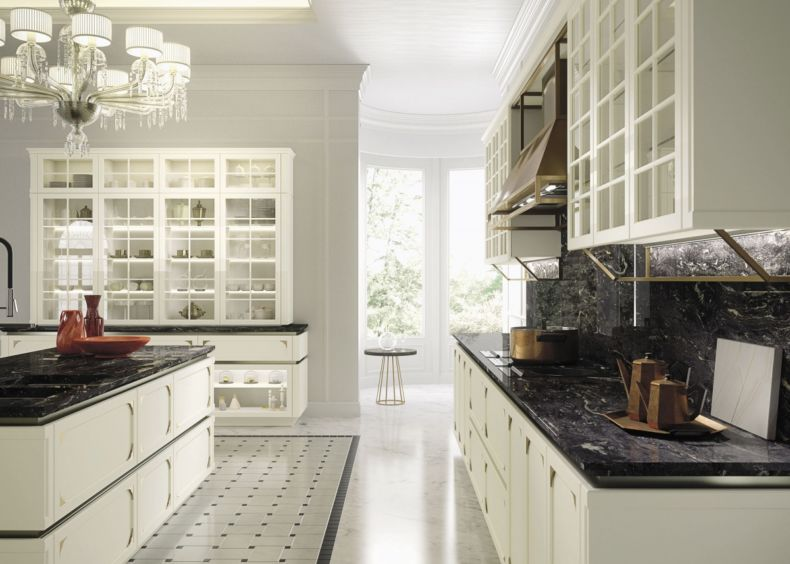 Дизайн кухни 2018 года (64)